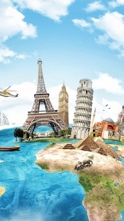 World Of Travel Wallpapers HD Download Of Famous Buildings Desktop Background