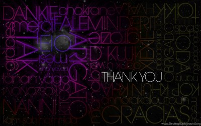 Thank You Text Hd Wallpapers Free Hd Wallpapers Desktop Background
