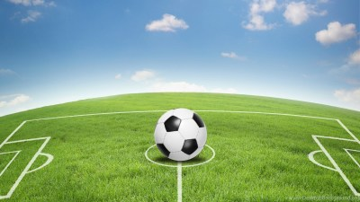 Download Wallpapers Art, Football Field, Soccer Field, Soccer ... Desktop Background