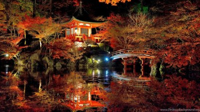 Scenery: Lovely Japanese Garden Landscape Cool Wallpapers HD For HD ... Desktop Background