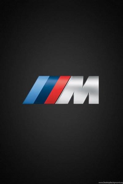 Download BMW M Logo iPhone 4 Wallpapers Desktop Background