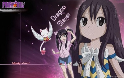 DeviantArt: More Like Fairy Tail Wallpapers Wendy By NatsuDrgonil Desktop Background