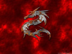 Small Of Red Dragon Wallpaper