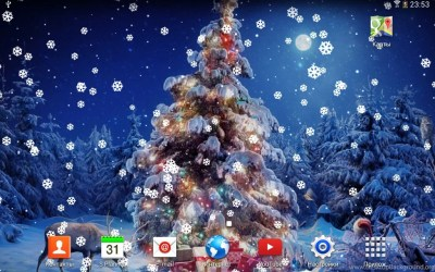 Live Christmas Wallpapers Wallpapers Zone Desktop Background