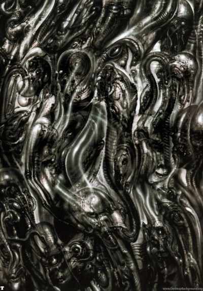 Biomechanical Landscape 012 Science Fiction H R Giger Wallpapers ... Desktop Background