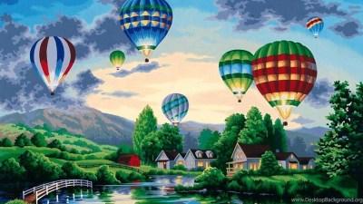 Hot Air Balloon Wallpapers Desktop Background