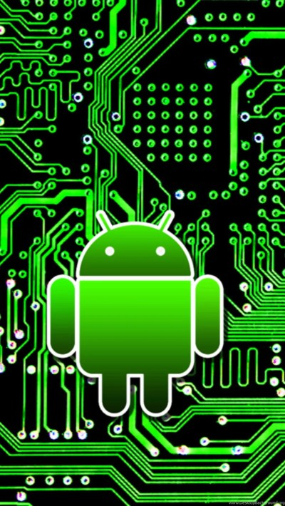 Android Circuit Board 01 Galaxy S5 Wallpapers HD.jpg Desktop Background