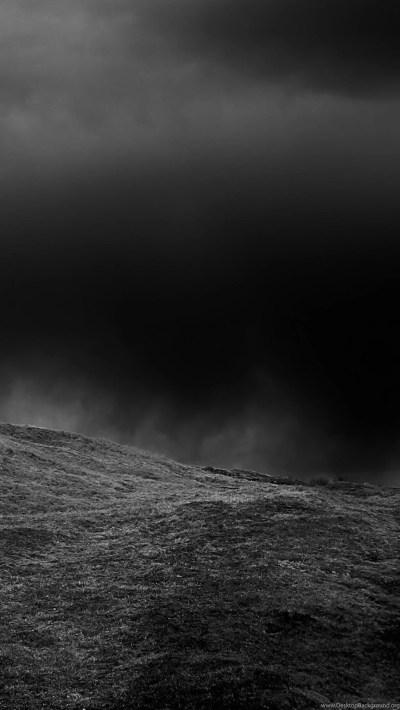 Nature/Landscape Dark Hill iPhone 6 Plus Wallpapers Black, Dark ... Desktop Background