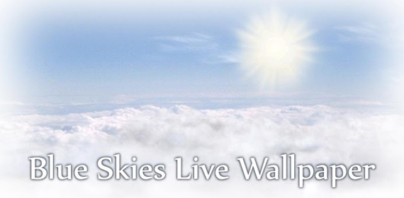 Blue Skies Live Wallpaper