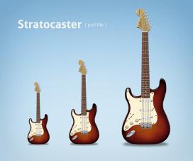 PSD Guitarra