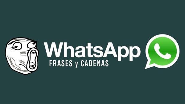 whatsapp cadenas