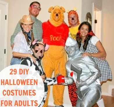 29 homemade halloween costumes for adults - Home Made Halloween Costumes For Men