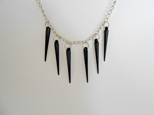 How to Make a Spike Necklace {diy}