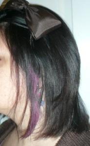 Hair Chalking 2