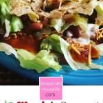Copycat Wendys Taco Salad