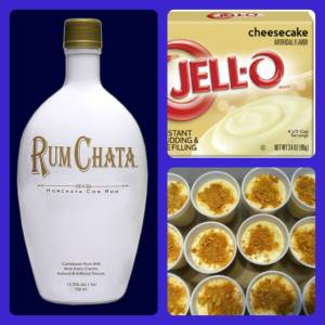 RumChata Cheesecake Pudding Shots Recipe
