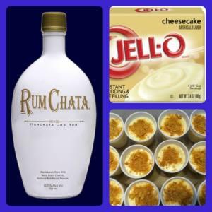 RumChata Cheesecake Pudding Shots Recipe