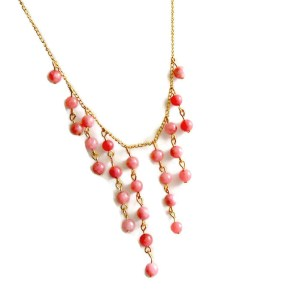 DIY Beaded Statement Necklace
