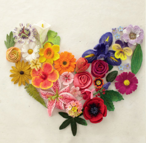 Felting Fabulous Flowers: 30 stunning designs {book review}