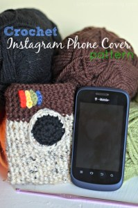 Crochet Instagram Phone Cover Pattern