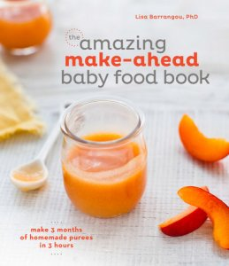 The Amazing Make-Ahead Baby Food Book by Lisa Barrangou, PhD Book Review