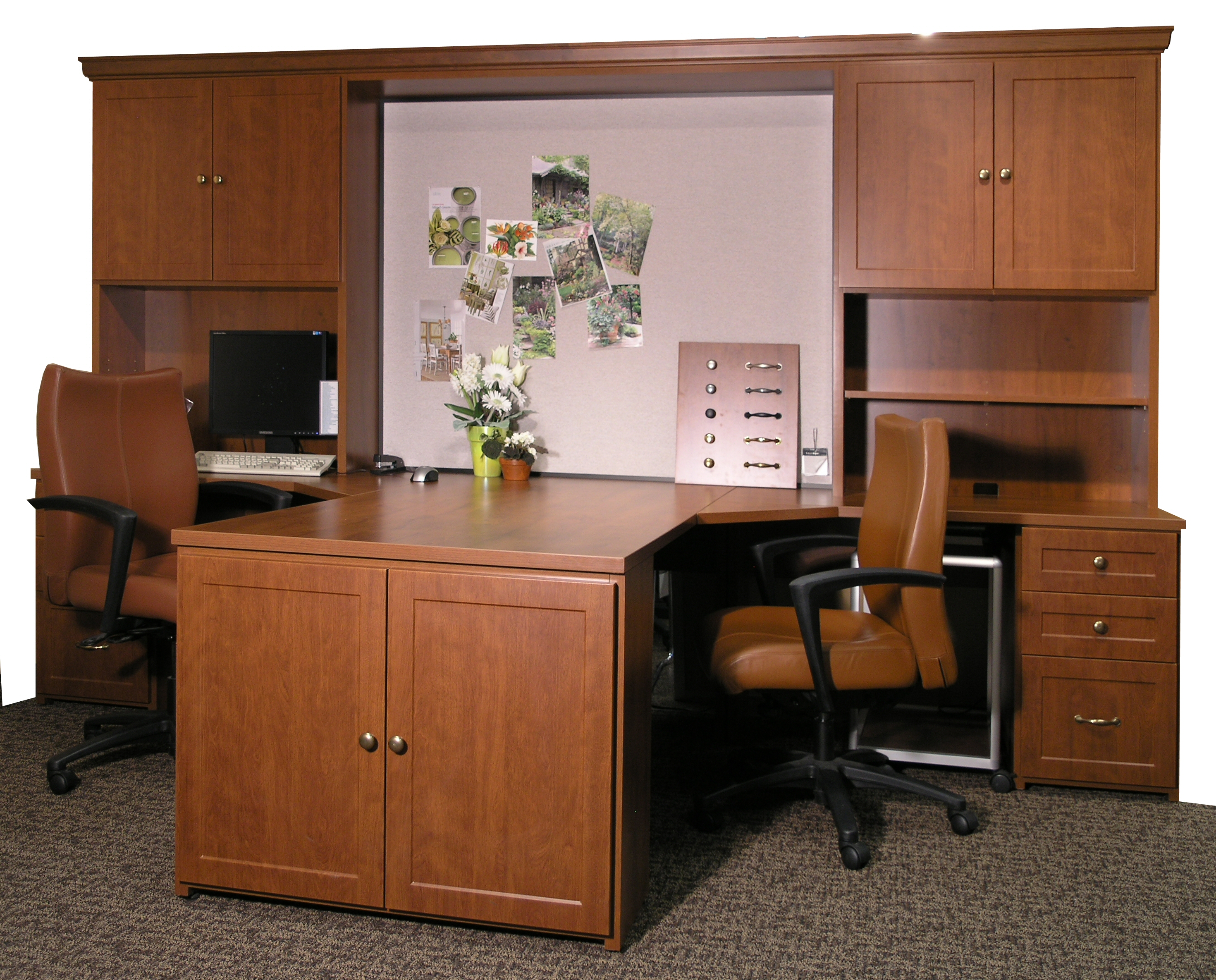 Luxury  About Home Office On Pinterest  Partners Desk Offices And Desks