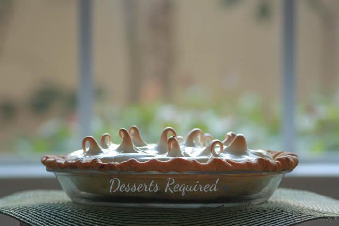 Desserts Required - Lemon Kiwi Meringue Pie