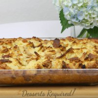 Apple Challah Baked French Toast  #SundaySupper
