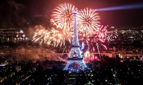 Image result for paris new year