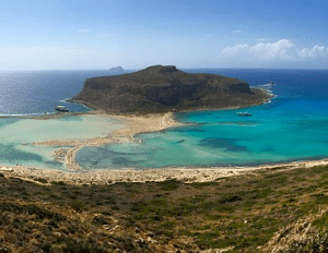 Viagens para a ilha de Creta no Verão