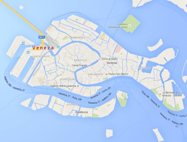 Bairros de Veneza