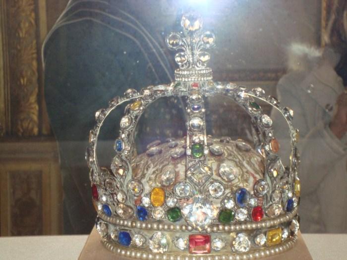 Coroa usada na coroação de Luis XV