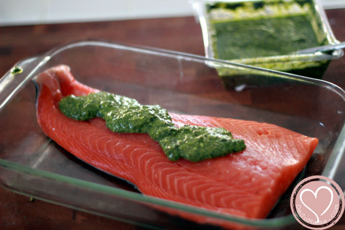 Pesto Salmon: Easy Solution for Mother's Day Recipes