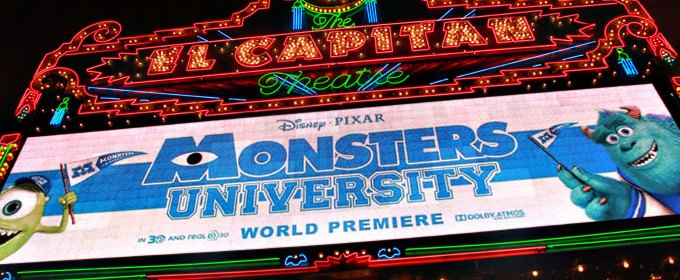 Monsters University Premiere: Getting My Scare On