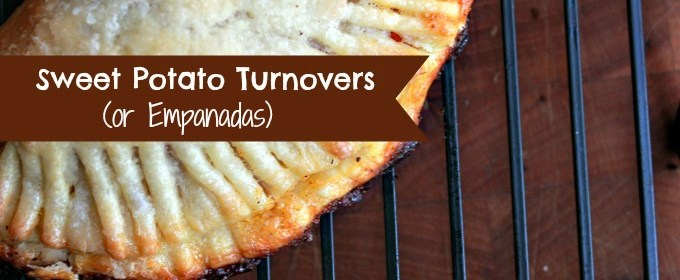 Sweet Potato Turnovers (or Empanadas?) Recipe