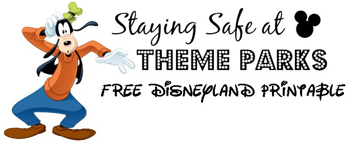 "Disneyland ""I'm Lost"" Safety Printable for Little Ones"