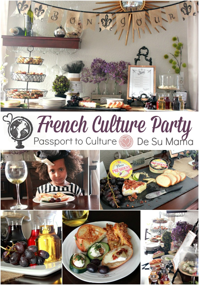 passport to culture, culture activity for kids, culture party, biracial girl