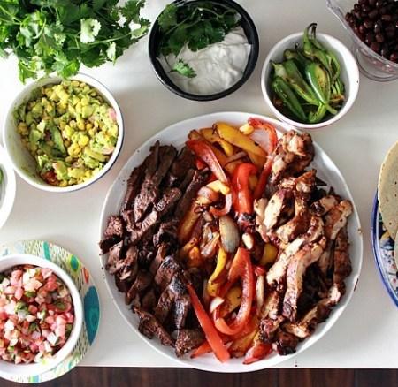 Fajita Bar: Weeknight Simple Meals To Fill Moms' Appetite