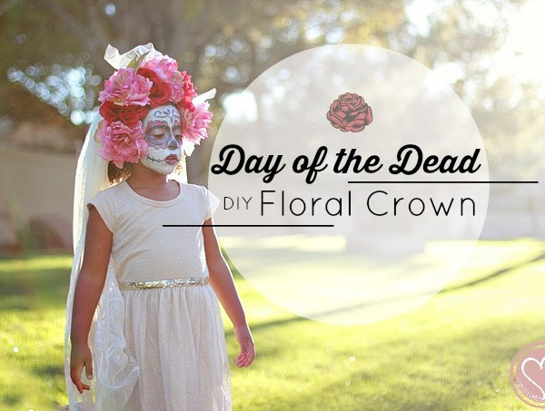 Mexican Day of the Dead Floral Crown Tutorial