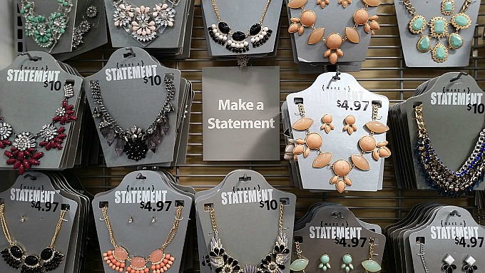 Gifts for Moms: Statement Necklace from Walmart