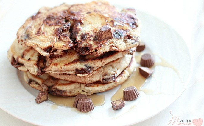 Reeses Pankcakes Breakfast Recipe: Food Tradtions with Kids