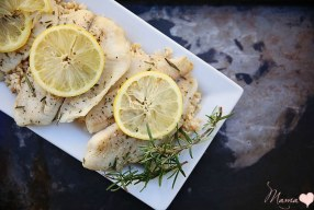 Lemon Rosemary Tilapia Recipe: Meatless Monday