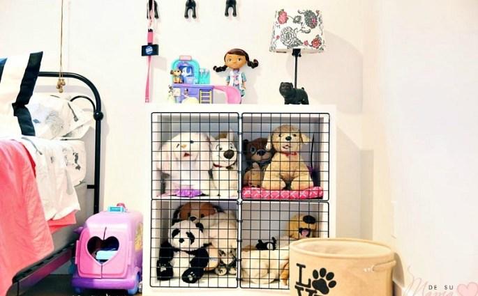 Stuffed Animal Storage For Dog Lovers: DIY Play Kennel