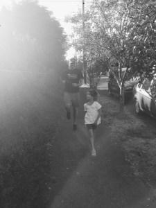 Running with Heidi