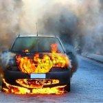 Consejos para actuar ante un incendio del vehículo