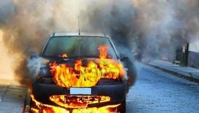 Incendio del vehículo