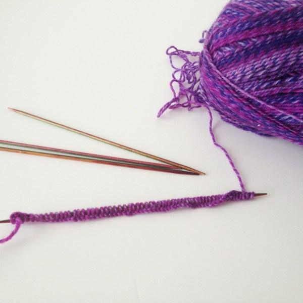 Knitting socks - Project 365
