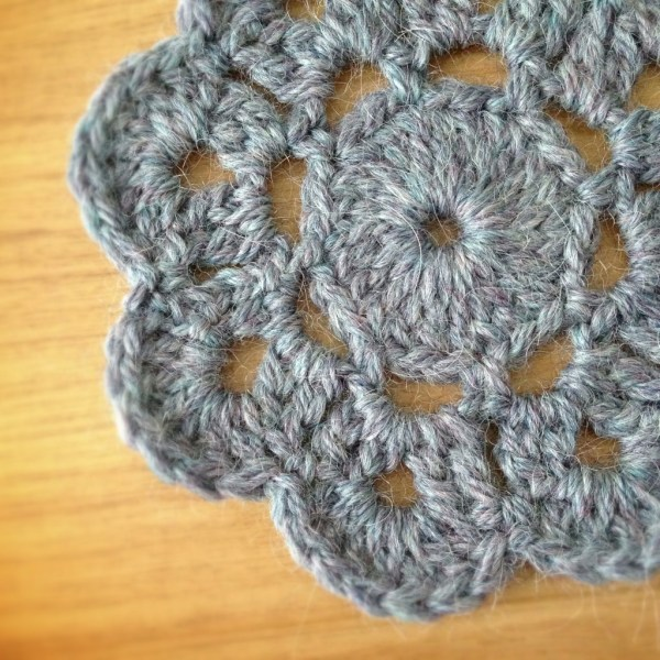 Crochet Flower - Project 365 - Day 55