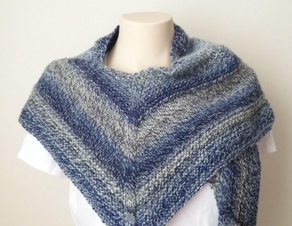 Free Knitting Pattern - Weekender Shawl