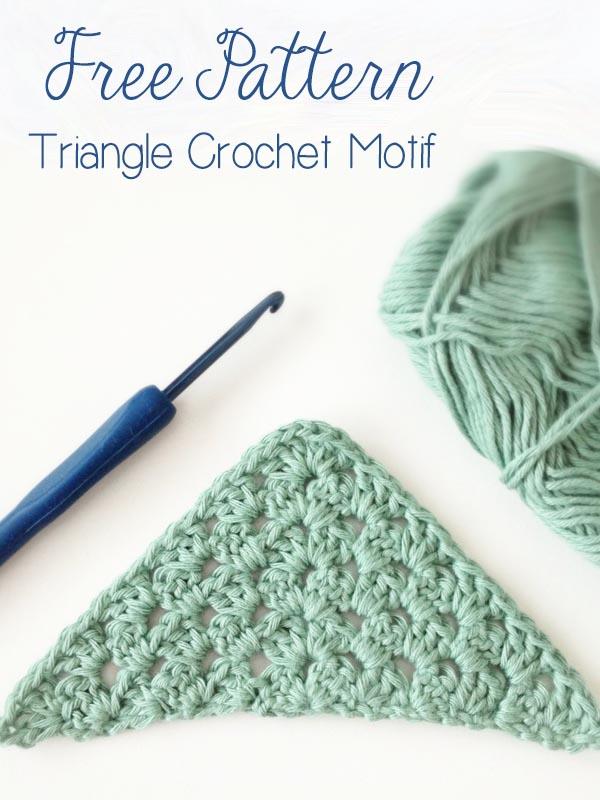 Free Triangle Crochet Motif